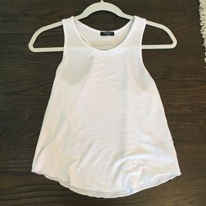 Tops - Girls white tank